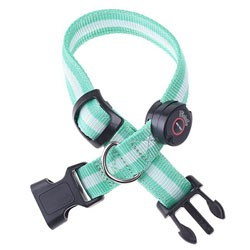 LED nylon collar